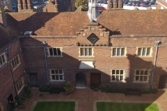 Upper Courtyard (1619) and Panoramic View of Guildford