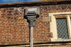 Lead hopper installed in 1627
