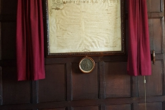 Original Charter and Seal in the Archbishop's Presence Chamber