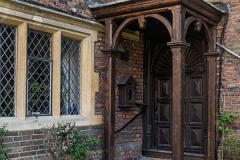 Entrance to Master's Lodgings