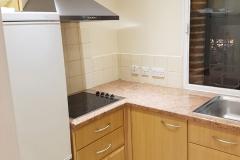 Kitchen (left) - single occupancy flat
