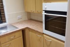 Kitchen (right) - single occupancy flat